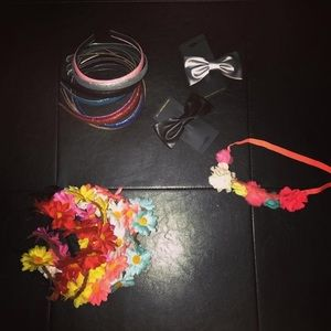 Other - Girls fun hair accessories for (18pcs)